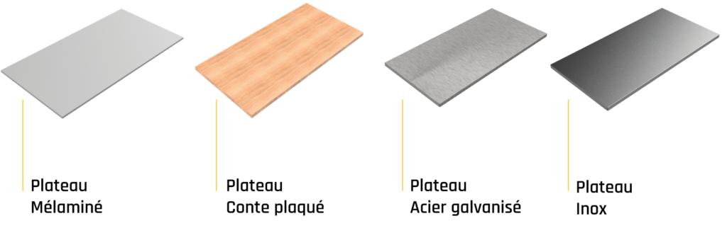 finition-plateau-mélaminé-contre-plaqué-inox-acier-MDF