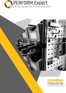 PERFORM Expert : le catalogue des produits standards et personnalisables.